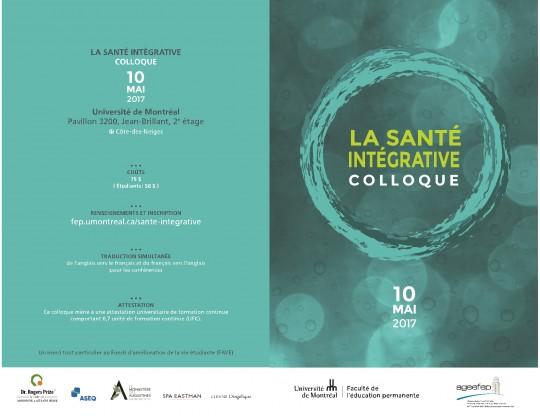 COLLOQUE SANTÉ INTÉGRATIVE_page1