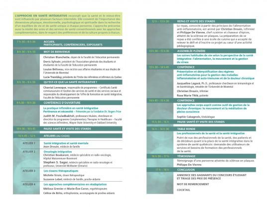 COLLOQUE SANTÉ INTÉGRATIVE_page2